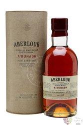"""Aberlour """" A´Bunadh batch 54 """" single malt Speyside whisky 60.7% vol.   0.70 l"""