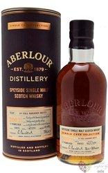 "Aberlour Single cask 2002 "" 1st Sherry cask 4405 17y "" Speyside whisky 58.8% vol.  0.70 l"