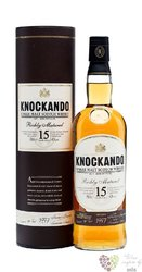 "Knockando 1997 "" Richly marured "" aged 15 years Speyside whisky 40% vol.  0.70 l"
