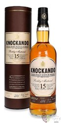 Knockando Richly matured 2004 aged 15 years Speyside whisky 43% vol.  0.70 l