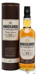 Knockando Richly matured 2003 aged 15 years Speyside whisky 43% vol.  0.70 l