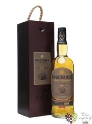Knockando 1997 aged 12 years wood box Speyside single malt whisky 43% vol.   0.70 l
