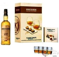 "Knockando Season 2000 "" Clasic malts & food "" aged 12 years Speyside whisky 43%vol.   0.70 l"