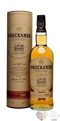 Knockando 1999 aged 12 years Speyside single malt whisky 43% vol.    0.70 l
