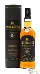 "Knockando 1994 "" Slow matured "" aged 18 years single malt Speyside whisky 43% vol.   0.70 l"