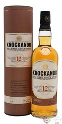 Knockando aged 12 years Speyside single malt whisky 43% vol.  0.70 l