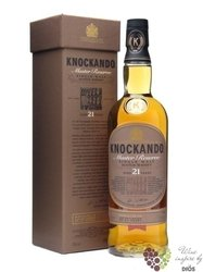 Knockando Master reserve 1989 aged 21 years Speyside whisky 40% vol.  0.70 l