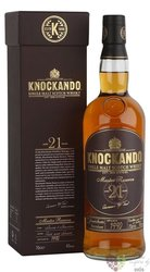 "Knockando 1990 "" Master reserve "" aged 21 years Speyside whisky 40% vol.  0.70 l"