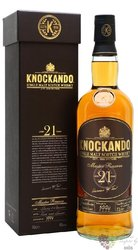 "Knockando 1990 "" Master reserve "" aged 21 years Speyside whisky 43% vol.   0.70l"