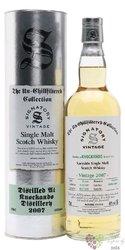 "Knockando 2007 "" Signatory UnChillfiltered "" Highland whisky 46% vol.  0.70 l"