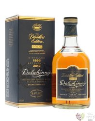 "Dalwhinnie 1996 "" Distillers edition "" bott.2012 single malt Highland whisky 43% vol.    0.70 l"