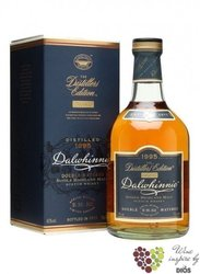 "Dalwhinnie 1995 "" Distillers edition "" single malt Highland whisky 43% vol.   0.70 l"