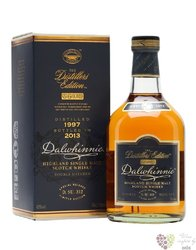"Dalwhinnie 1997 "" Distillers edition "" bott.2013 single malt Highland whisky 43% vol.   0.70 l"