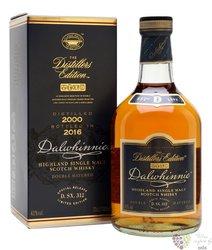 "Dalwhinnie 2000 "" Distillers edition "" bott.2016 single malt Highland whisky 43% vol.  0.70 l"