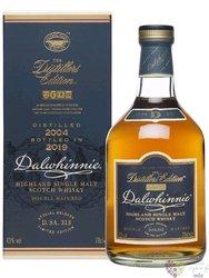 "Dalwhinnie 1998 "" Distillers edition "" SLEVA single malt Highland whisky 43% vol.  0.70 l"