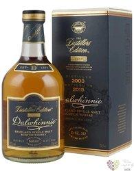"Dalwhinnie 2003 "" Distillers edition 2018 "" single malt Highland whisky 43% vol.  0.70 l"