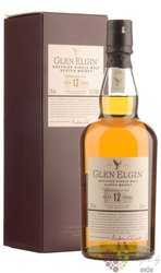 Glen Elgin 12 years old Speyside single malt whisky 43% vol.  0.70 l