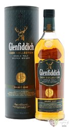 "Glenfiddich cask collection "" Select "" single malt Speyside whisky 40% vol.  1.00 l"