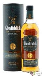"Glenfiddich cask collection "" Select "" single malt Speyside whisky 40% vol.  0.20 l"