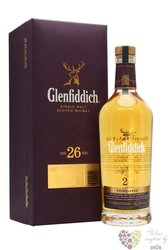 "Glenfiddich "" Excellence "" aged 26 years single malt Speyside whisky 43% vol. 0.70 l"