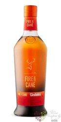 "Glenfiddich experimental series "" Fire & Cane "" single malt Speyside whisky 43%vol.  0.70 l"