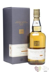 Glenkinchie 20 years old 1990 - 2010 single malt Lowlands whisky 55.1% vol.    0.70 l