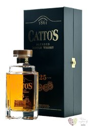 Cattos aged 25 years blended Scotch whisky by Inverhouse 40% vol.  0.70 l