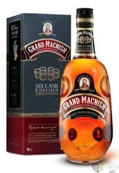 "Grand Macnish "" Six cask edition "" finest blended Scotch whisky by MacDuff 40% vol.   1.00 l"