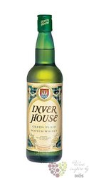 Green Plaid blended Scotch whisky by Inverhouse 40% vol.   0.70 l