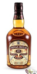 Chivas Regal 12 years old premium blended Scotch whisky 40% vol.    2.00 l