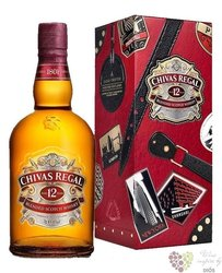 "Chivas Regal "" Globe trotter gentlemans edition "" aged 12 years Scotch whisky 40% vol.  0.70 l"