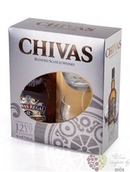 Chivas Regal 12 years old 2 glass pack ed.2013 premium Scotch whisky 40% vol. 0.70 l