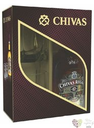 Chivas Regal 12 years old 2 glass pack ed.2012 premium Scotch whisky 40% vol. 0.70 l