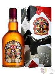 Chivas Regal 12 years old metal box ed.2012 premium Scotch whisky 40% vol.   0.70 l