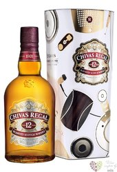 Chivas Regal 12 years old metal box ed.2017 premium Scotch whisky 40% vol.   0.70 l