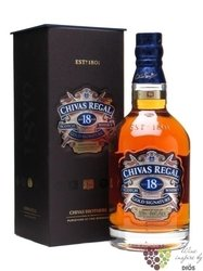 "Chivas Regal "" Gold Signature "" aged 18 years premium Scotch whisky 40% vol.   0.70 l"