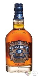 "Chivas Regal "" Gold Signature "" aged 18 years premium Scotch whisky 40% vol.   0.05 l"