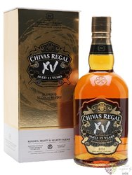 "Chivas Regal "" XV "" aged 15 years Scotch whisky 40% vol.  0.70 l"