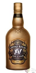 "Chivas Regal "" XV Gold "" aged 15 years Scotch whisky 40% vol.  0.70 l"
