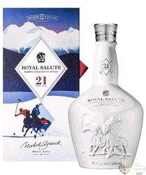 "Chivas Regal Royal Salute "" Polo Snow "" aged 21 years Scotch whisky 40% vol.  0.70 l"