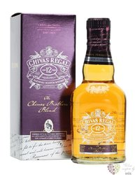"Chivas Regal "" Brother´s blend "" aged 12 years premium Scotch whisky 40% vol.  0.20 l"