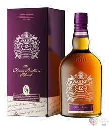 "Chivas Regal "" Brother´s blend "" aged 12 years Scotch whisky 40% vol.1.00 l"