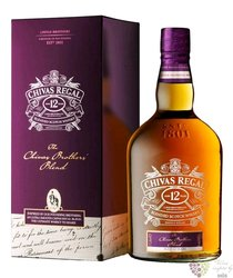 """Chivas Regal """" Brother´s blend """" aged 12 years metal box Scotch whisky 40% vol.1.00 l"""