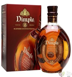 Dimple 15 years old premium blended Scotch whisky 43% vol.    1.00 l