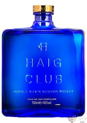 "Haig "" Club "" single grain Scotch whisky 40% vol.   0.70 l"