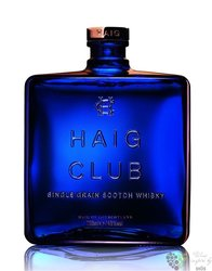 "Haig "" Club "" single grain Scotch whisky 40% vol.   1.00 l"