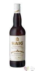 "Haig "" Gold label "" original blended Scotch whisky by John Haig & Co 43% vol.  0.70 l"