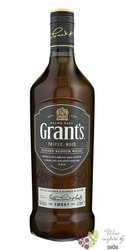 "Grant´s Triple wood "" Smoky "" blended Scotch whisky 40% vol.  0.70 l"