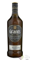 "Grant´s Triple wood "" Smoky "" blended Scotch whisky 40% vol.  1.00 l"