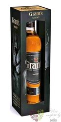 "Grants Triple wood "" Smoky ltd. "" gift box blended Scotch whisky 40% vol.  0.70 l"